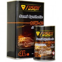 Fusion Semy Syntetic 10W40 металл, 4 л