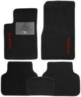 Коврики в салон для Samand EL / LX 06- текстильные, черные (Стандарт)