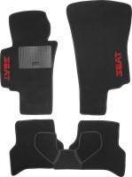 Коврики в салон для Seat Altea XL / Freetrack '07- текстильные, черные (Стандарт)