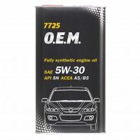 Mannol Mannol 7725 O.E.M. for Mazda 5W-30, металл 4 л