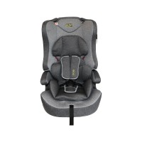 Детское автокресло Boss Baby Car Seat HB616 (I, II, III)  grey-dark grey