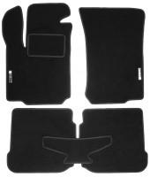 Коврики в салон для Seat Toledo '99-04 текстильные, черные (Стандарт)