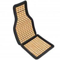 Накидка-массажер на сиденье, плоская косточка Elegant EL 100 650 черная