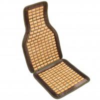 Накидка-массажер на сиденье, плоская косточка Elegant EL 100 651 серая