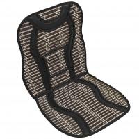 Накидка-массажер на сиденье бамбуковая Elegant EL 100 655 черная