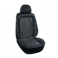 Накидка-массажер на сиденье, круглая косточка Elegant EL 100 658 черная
