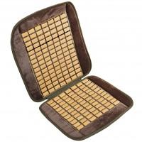 Накидка-массажер на сиденье, плоская косточка Elegant EL 100 661 серая