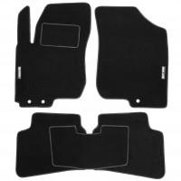 Коврики в салон для Hyundai i30 FD '07-12 текстильные, черные (Стандарт)