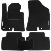 Коврики в салон для Hyundai ix-35 '10-15 текстильные, черные (Стандарт)