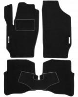 Коврики в салон для Skoda Fabia '99-07 текстильные, черные (Стандарт)