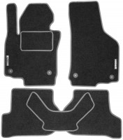 Коврики в салон для Skoda Octavia A5 '05-13 текстильные, серые (Стандарт)