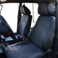 Авточехлы Premium для салона Lada (Ваз) 2108 '86-12 серая строчка (MW Brothers)