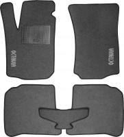 Коврики в салон для Skoda Octavia '97-09 текстильные, серые (Стандарт)