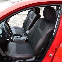 Авточехлы Dynamic для салона Mazda 3 '04-09 красная строчка (MW Brothers)