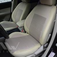 Авточехлы Premium для салона Mazda 6 '02-08 седан бежевые (MW Brothers)