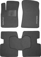 Коврики в салон для Hyundai Sonata '05-10 текстильные, серые (Стандарт)