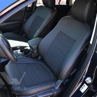 Авточехлы Dynamic для салона Mazda CX-5 '15-17, Touring и Premium серая строчка (MW Brothers)