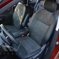 MW Brothers Авточехлы Leather Style для салона Peugeot Rifter '18-, серая строчка (MW Brothers)