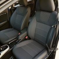 Авточехлы Dynamic для салона Renault Kadjar '15-, серая строчка (MW Brothers)