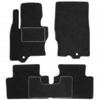 Коврики в салон для Infiniti FX (QX70) '09- текстильные, черные (Стандарт)