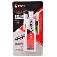 Герметик прокладок (червоний) AXXIS, 85 г + клей в подарунок
