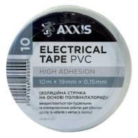 Ізострічка AXXIS ET-912W біла 19 мм х 10 м