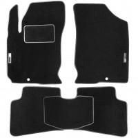 Коврики в салон для Kia Ceed '06-10 текстильные, черные (Стандарт)