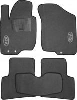 Коврики в салон для Kia Ceed '06-10 текстильные, серые (Стандарт)