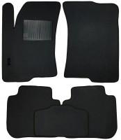 Коврики в салон для Kia Cerato '09-13 текстильные, серые (Стандарт)