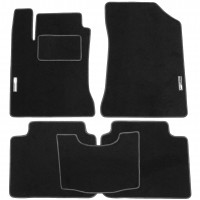 Коврики в салон для Kia Magentis '06-11 текстильные, черные (Стандарт)