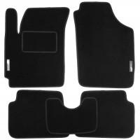 Коврики в салон для Kia Picanto '04-10 текстильные, черные (Стандарт)