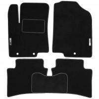Коврики в салон для Kia Rio '11-15 текстильные, черные (Стандарт)