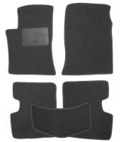 Коврики в салон для BYD F3 '05- текстильные, черные (Стандарт)