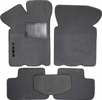 Коврики в салон для Lada (Ваз) 2108-2115 текстильные, серые (Стандарт)