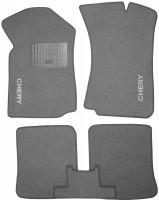 Коврики в салон для Chery Amulet '04-12 текстильные, серые (Стандарт)