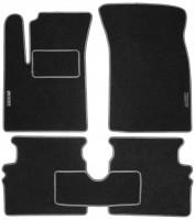 Коврики в салон для Chevrolet Aveo '04-11 текстильные, серые (Стандарт)