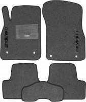 Коврики в салон для Chevrolet Cruze '09- текстильные, серые (Стандарт)