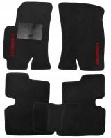Коврики в салон для Chevrolet Epica '07-12 текстильные, черные (Стандарт)