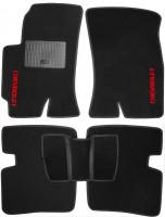 Коврики в салон для Chevrolet Evanda '03-06 текстильные, черные (Стандарт)