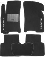 Коврики в салон для Chevrolet Lacetti '03-12 текстильные, черные (Стандарт)