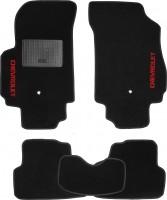 Коврики в салон для Chevrolet Orlando '11- текстильные, черные (Стандарт) 1+2 ряд