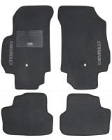 Коврики в салон для Chevrolet Orlando '11- текстильные, серые (Стандарт) 1+2 ряд