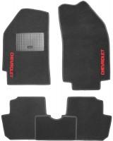 Коврики в салон для Chevrolet Spark '11- текстильные, черные (Стандарт)