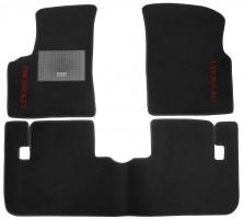 Коврики в салон для Chevrolet Tacuma '00-08 текстильные, черные (Стандарт)