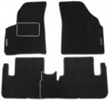 Коврики в салон для Chevrolet Tacuma '00-08 текстильные, серые (Стандарт)
