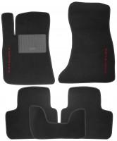 Коврики в салон для Chrysler 300 C '04-10 текстильные, черные (Стандарт)