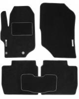 Коврики в салон для Citroen C-Elysee '13- текстильные, черные (Стандарт)