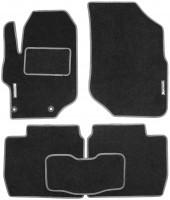 Коврики в салон для Citroen C-Elysee '13- текстильные, серые (Стандарт)