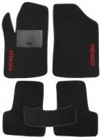Коврики в салон для Citroen C3 / DS3 '10-16 текстильные, черные (Стандарт)