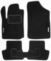 Коврики в салон для Citroen C4 / DS4 '11- текстильные, черные (Стандарт)